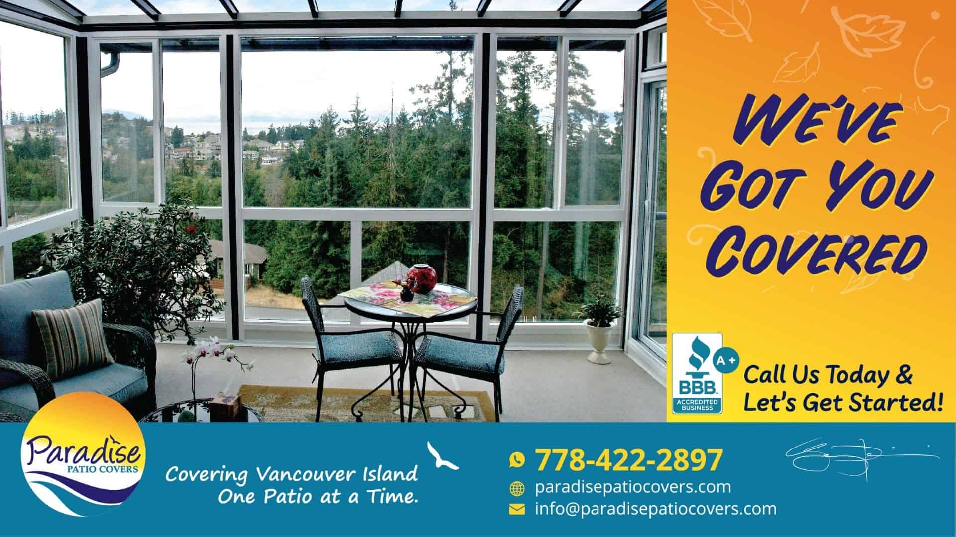 paradise patio covers - we've got you covered